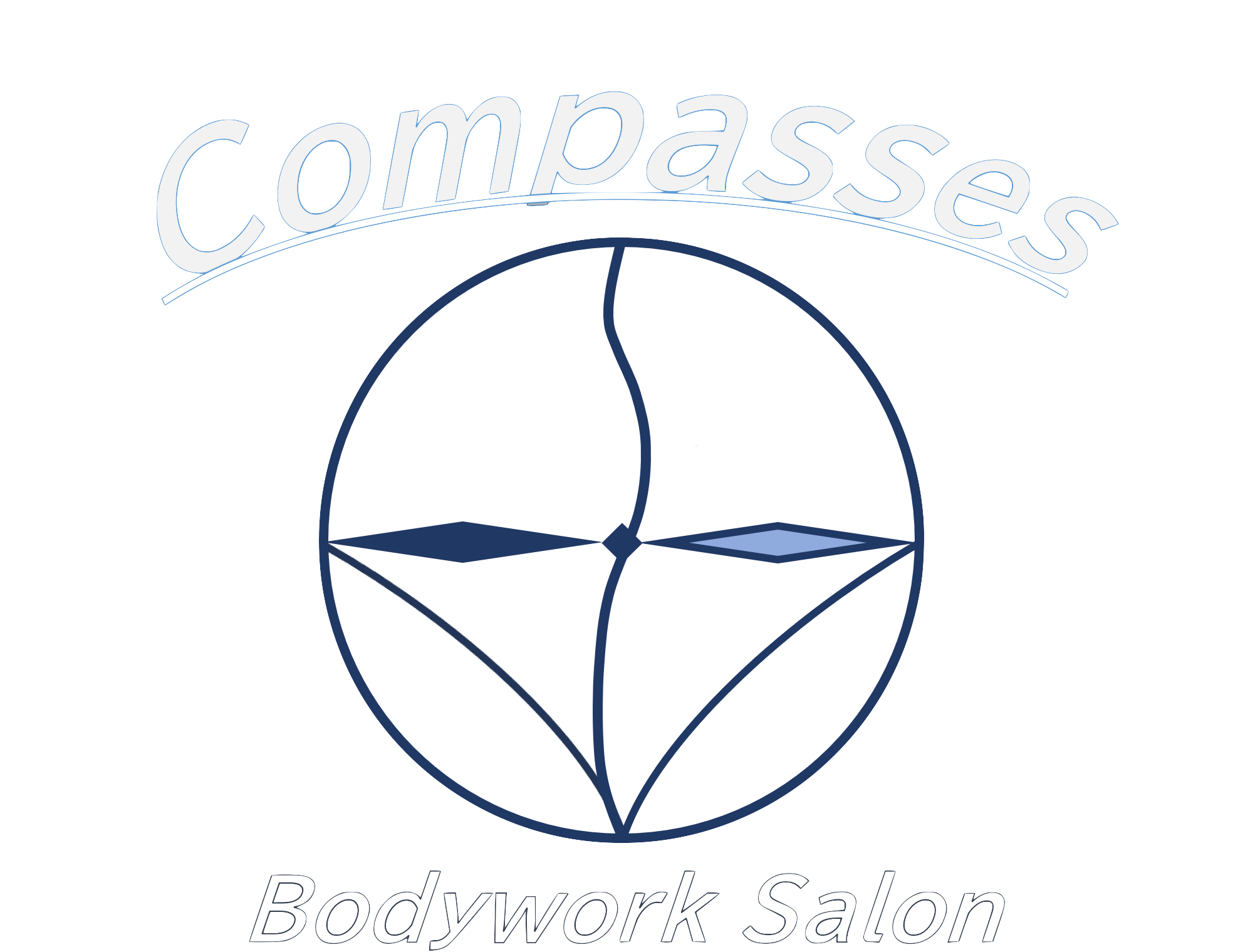 Bodywork Salon Compasses